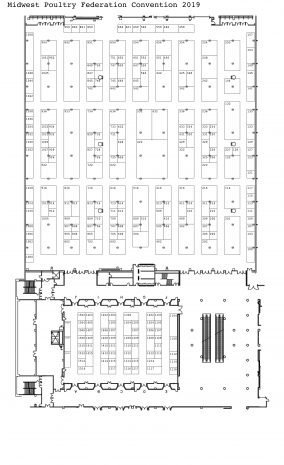 MPF Convention Floor Plan