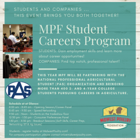 2020 Student Careers Program | Midwest Poultry Federation