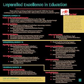 2018 MPF Convention Education Program