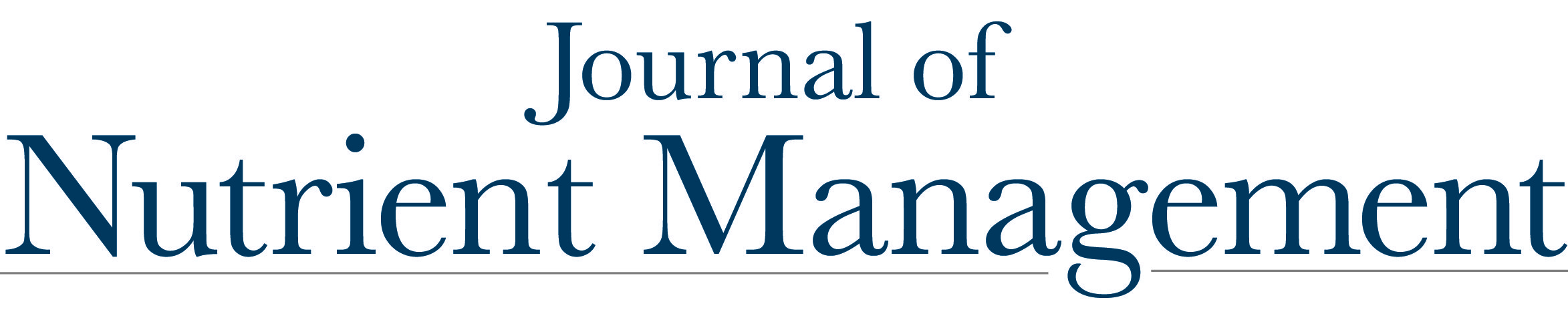 Journal of Nutrient Management