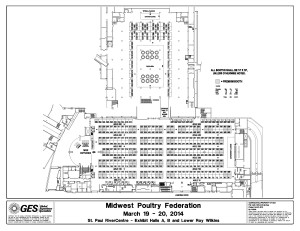 Exhibit Halls A & B | 2014 Midwest Poultry Federation Convention